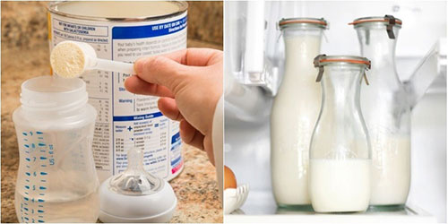 Sữa công thức bảo quản như thế nào